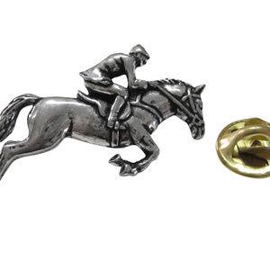 Horse Racing Lapel Pin